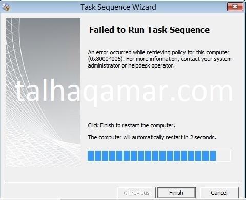 TS Error-0x80004005-WMarked