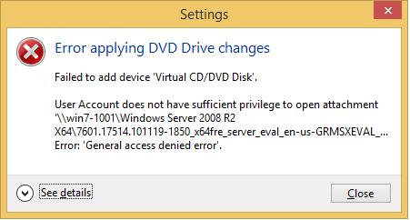 Error applying DVD Drive changes-talhaqamar